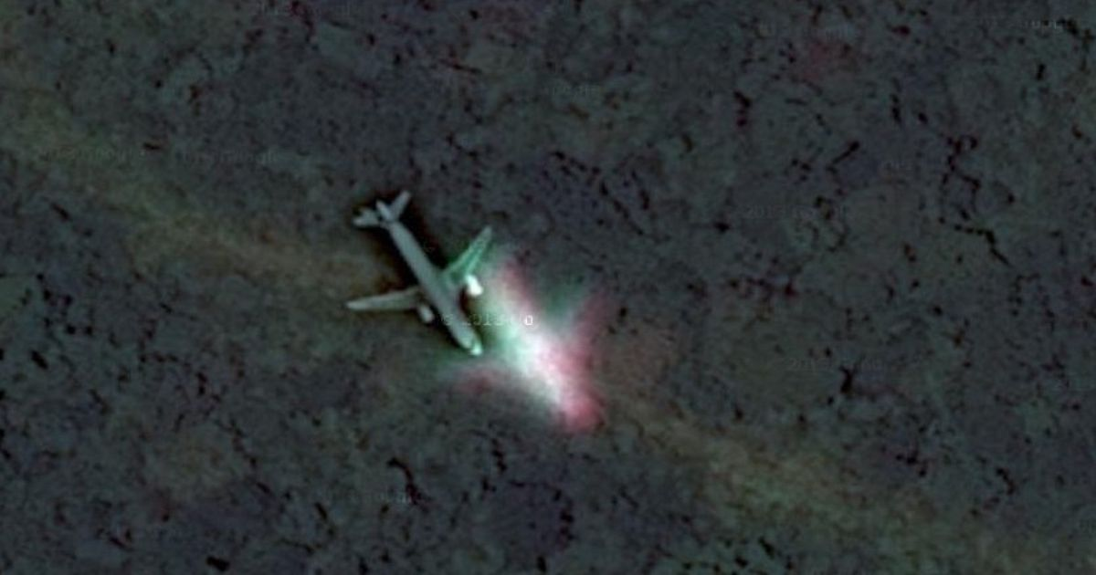 Malaysian Airlines Mh370 Has Not Been Found On Google Maps