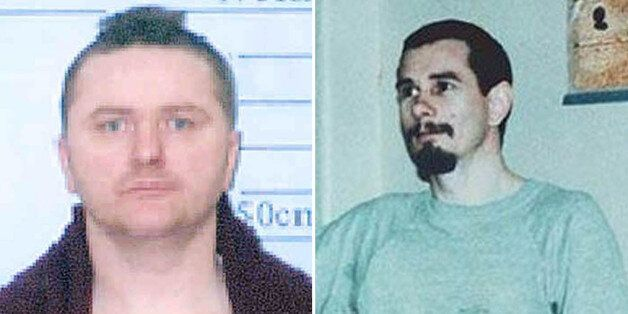 Convicted murderers George McGeogh (left) and Peter Chester have lost their battle for voting