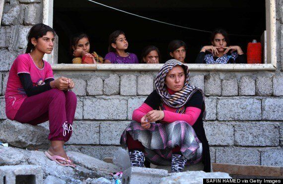 Yazidis Face Death On Iraqi Mountain Or Slaughter At The Hands Of The Islamic