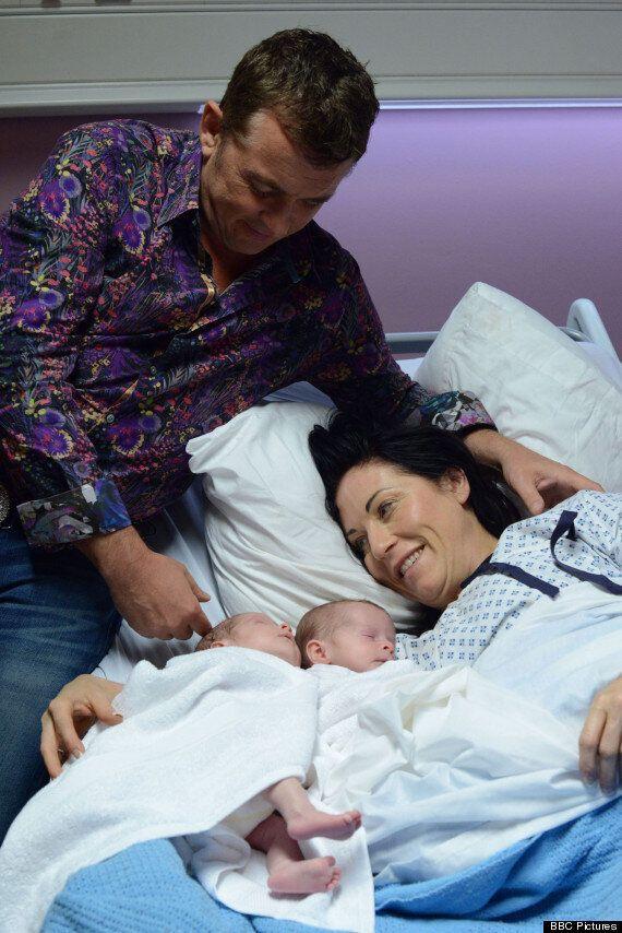'EastEnders' Spoiler! Alfie And Kat Moon Welcome Twin Baby Boys