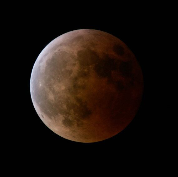 Partial Lunar Eclipse On Friday Night Will See The Full Moon Turn Slightly