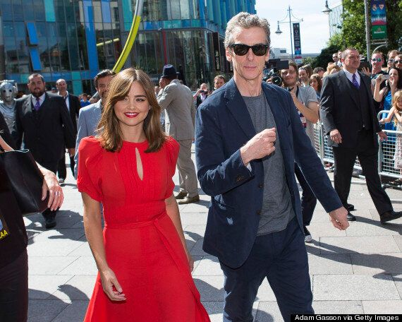 'Doctor Who' Series 8: Fans Welcome Peter Capaldi And Jenna Coleman At Series Premiere In Cardiff (PICS,