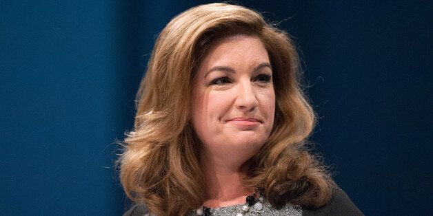 Karren Brady speaks to delegates during the Conservative Conference 2013, held at Manchester