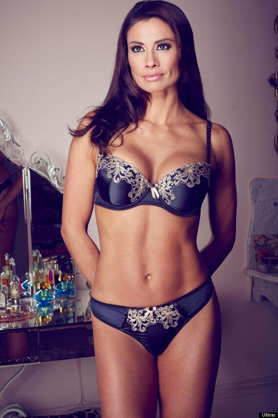 Melanie Sykes Strips To Show Off Her Amazing Figure As The The Face And Body Of Ultimo Underwear