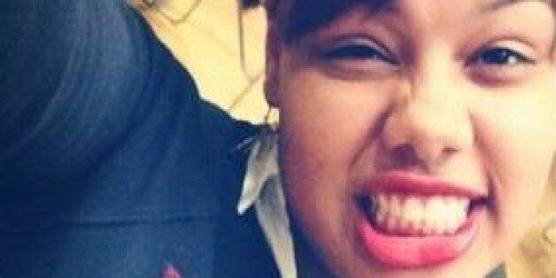 Tiona Rodriguez, 17, was caught allegedly stealing luxury lingerie from the New York