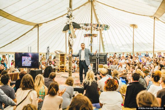 Mehdi Hasan Tells Wilderness Festival The 'Hysterical' British Press Is Encouraging