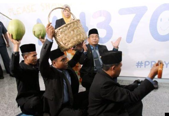 Search For Missing Malaysia Airlines Plane Continues With Coconuts, 'Magical' Walking Stick And A