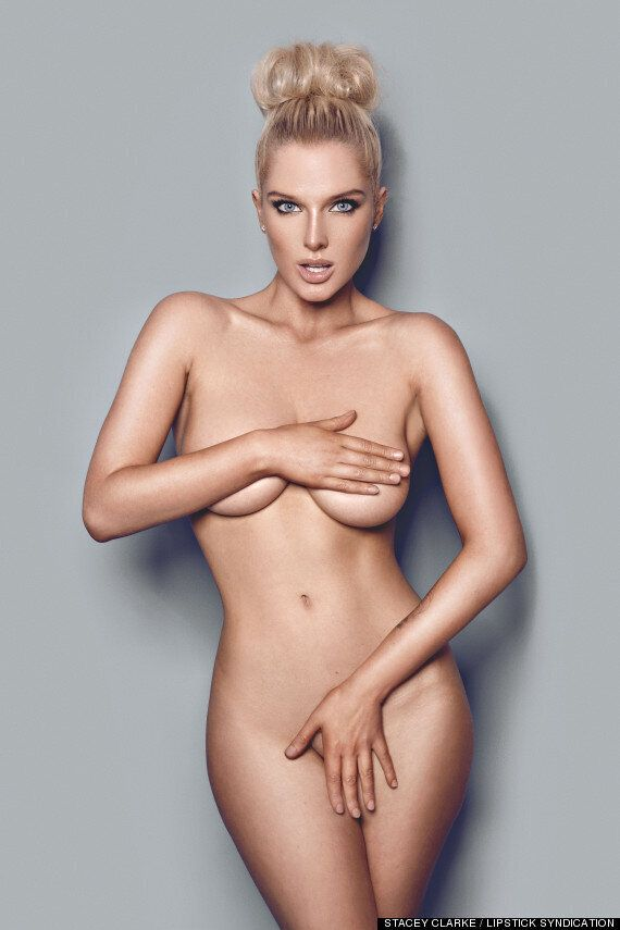 Helen Flanagan Naked In 2014 Calendar Pictures