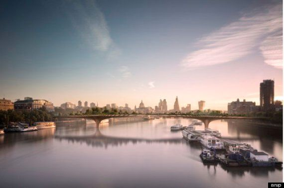 Boris Johnson Doesn't Know 'The Point' Of The Garden Bridge (That He's Paying £30m