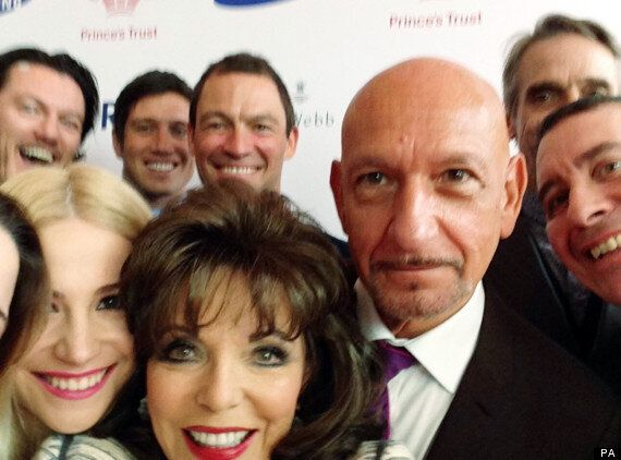 Joan Collins Fails To Include Prince Charles In Star-Studded Selfie At Princes Trust Celebrate Success...
