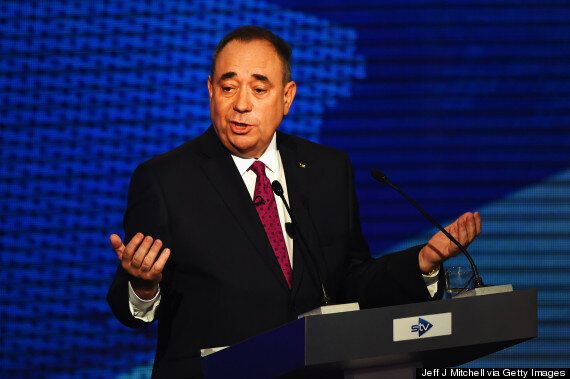 Alex Salmond Says He Has No 'Plan B' If Scotland Can't Keep The