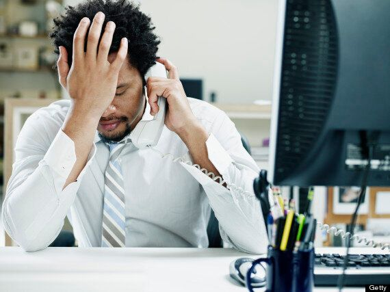 Stress At Work On The Increase, Claims