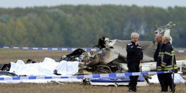 Ten Parachutists Killed In Belgium Plane