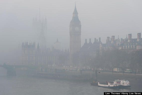UK Weather: Fog Leads To Flight Delays At Heathrow, London City, Manchester Airports