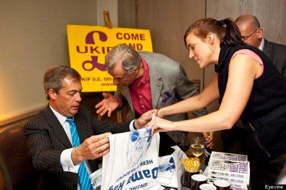 Ukip Leader Nigel Farage Accused Of Affair With Annabelle