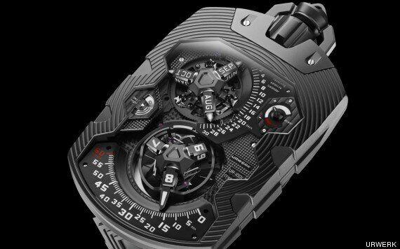 URWERK UR-1001 Pocket Watch Costs £240,000 Because It's A 'Grand Uber