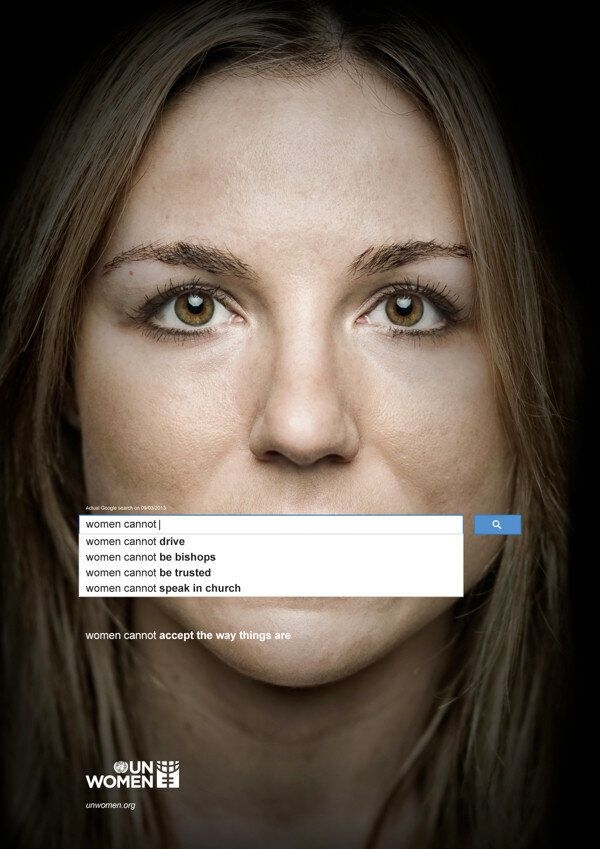 UN Women Uses Real Google Searches To Illustrate Reality Of Global