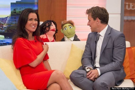 Susanna Reid And Ben Shephard Make Some New 'Muppet' Friends On 'Good Morning Britain'