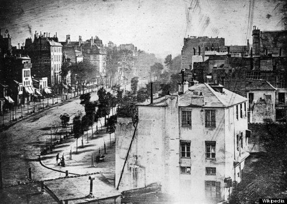 This Is The First Photograph Ever Taken Of A Human