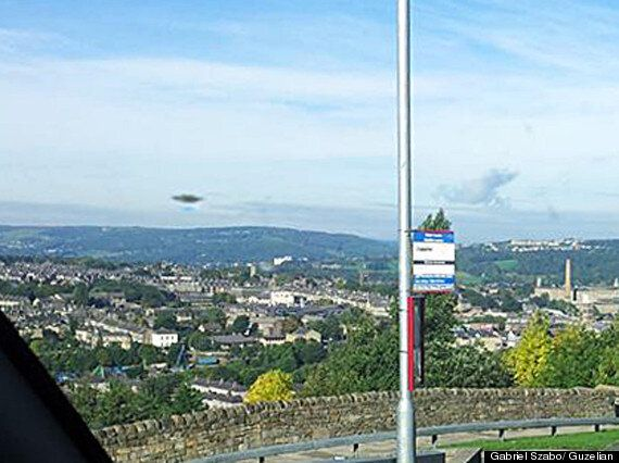 UFO Hovers Above Shipley, West Yorkshire