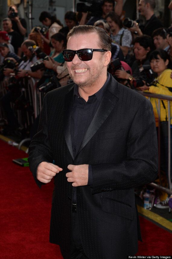 'Muppets Most Wanted' Premiere: Ricky Gervais Reveals He'd 'Do Anything With A Frog'