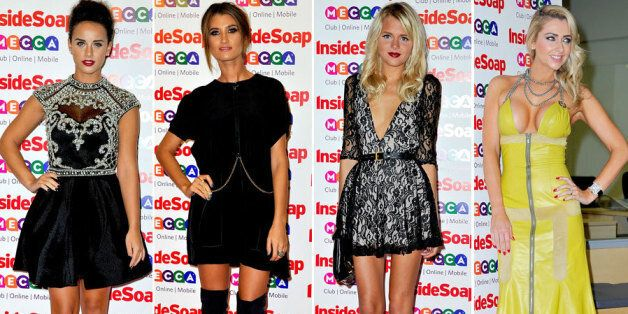 Stars walk the red carpet at the Inside Soap
