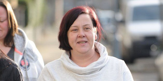 File photo dated 10/1/2014 of benefits Street star White Dee who has refused to comment on claims the...