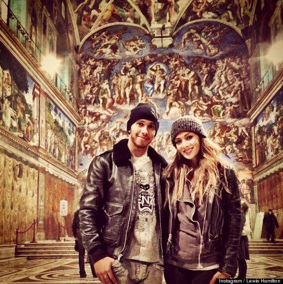 Lewis Hamilton Shares Instagram Photo Of 'Wifey' Nicole Scherzinger On Romantic Trip To Rome