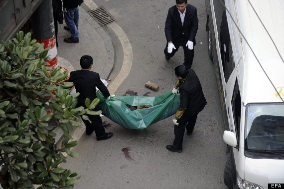 China Knife Attack Leaves Six
