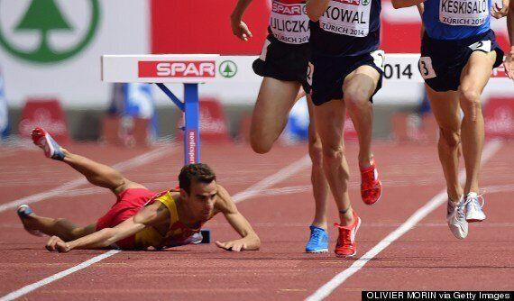 European Championships: Víctor García Suffers Nasty Fall In Steeplechase