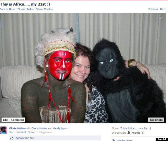 'This Is Africa' Party Hosted By Australian 21st Birthday Girl, Gets Horribly Racist