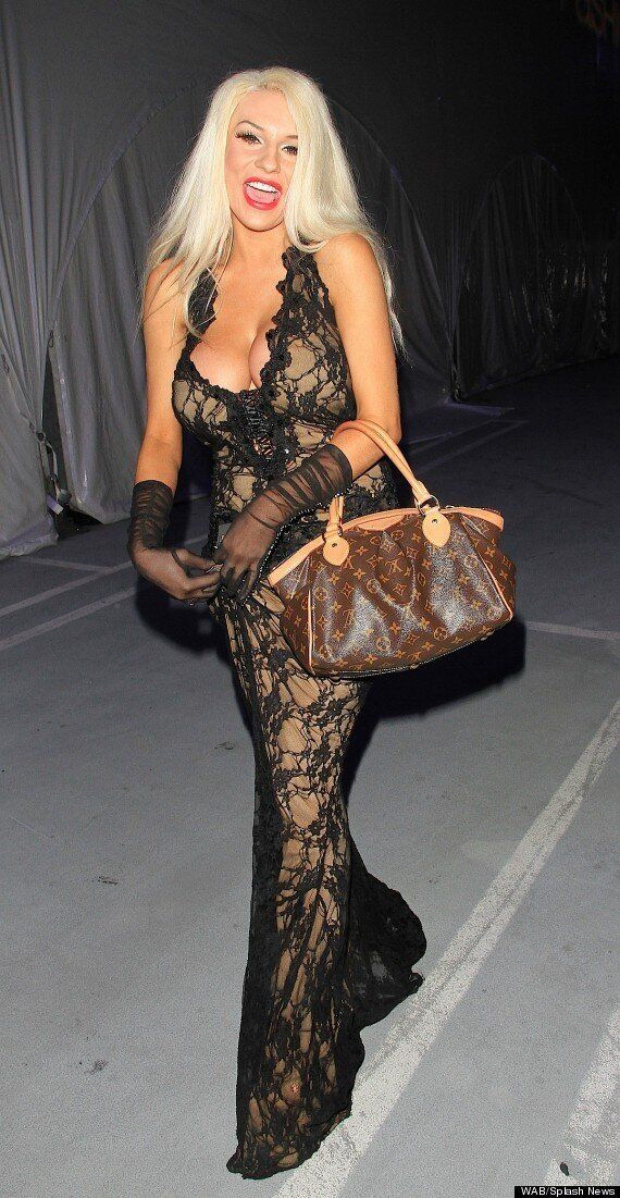 Courtney Stodden Attempts A Demure Look... And Almost Succeeds