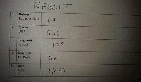 Bus Pass Elvis Candidate David Bishop: 'I Sent A Message To Vladimir