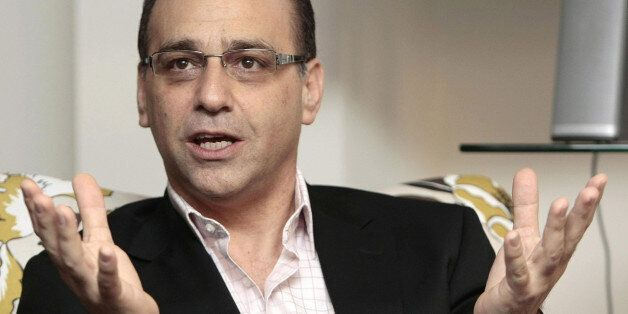 Dragons Den star Theo Paphitis speaks at the launch of the Smarta website in central