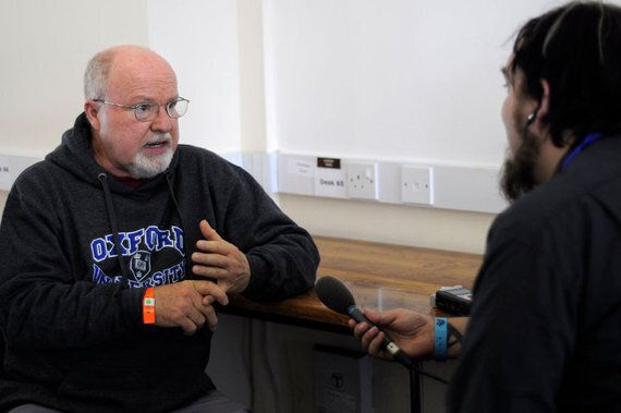 Drinking Beer With Richard Rohr in New