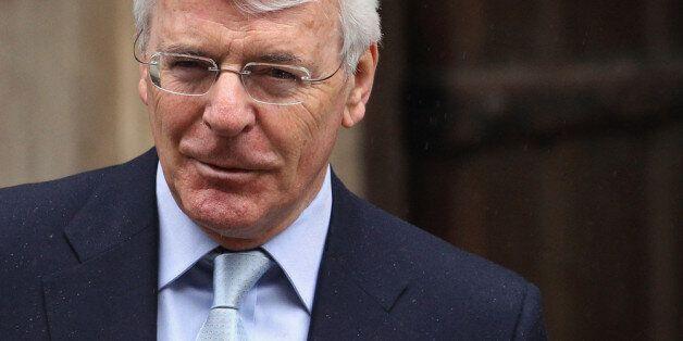 LONDON, ENGLAND - JUNE 12: Former Britrish Prime Minister Sir John