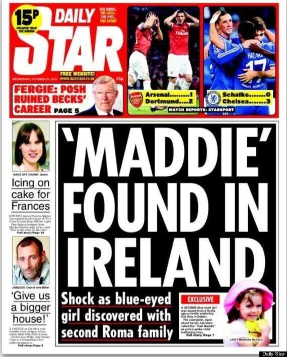 Madeleine McCann Found, According To The Daily
