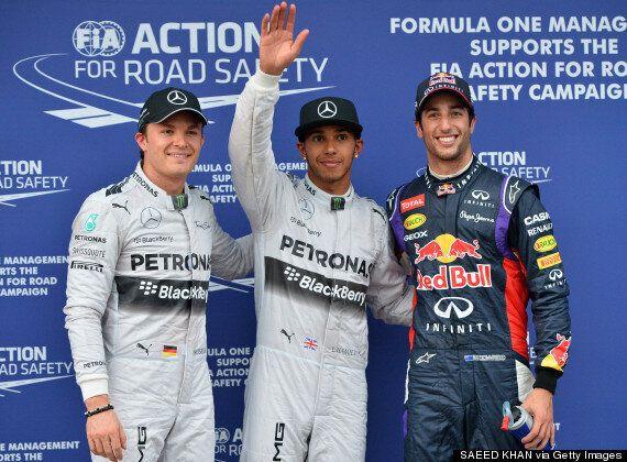 Lewis Hamilton Takes Pole At Australian Grand