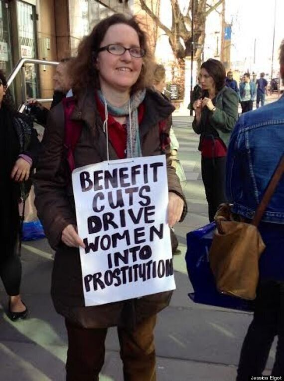Porn Stars And Prostitutes Picket Anti-Porn