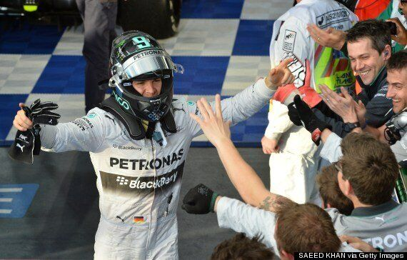 F1 2014: Nico Rosberg Wins Australian Grand Prix, Lewis Hamilton Retires Early