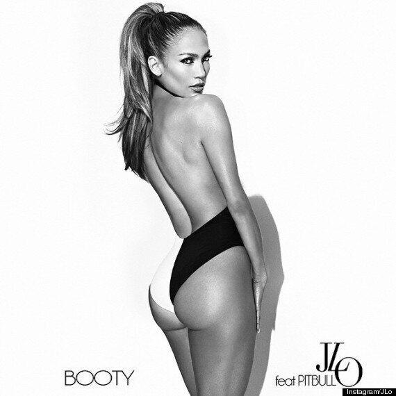 Jennifer Lopez Gives Nicki Minaj A Run For Her Money With Bum-Flashing New Single Cover