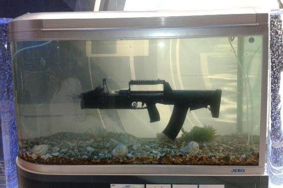 Underwater Machine Gun: World's First Amphibious Assault Weapon Designed For Russian Special