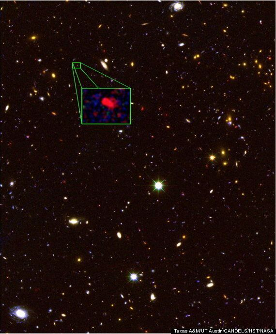 Most Distant Galaxy From Earth