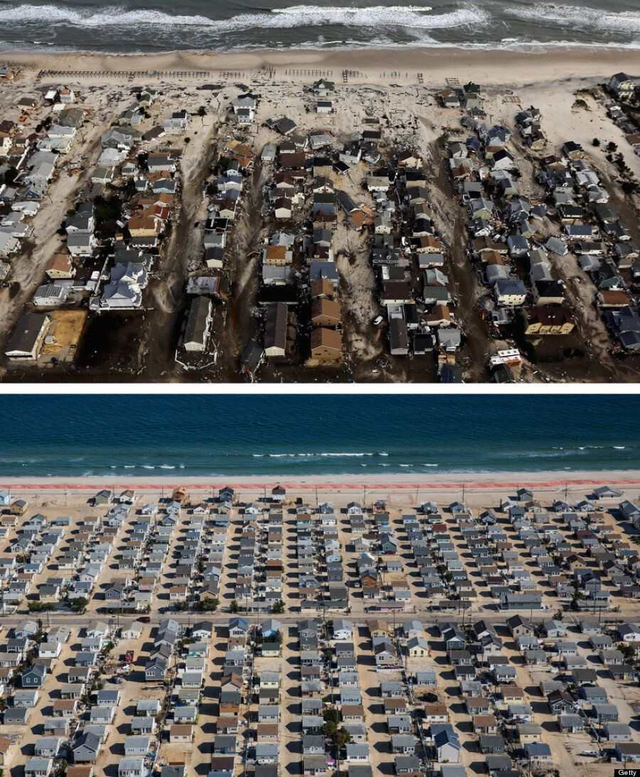 Hurricane Sandy First Anniversary: Now And Then Pictures Show How Life Goes On After