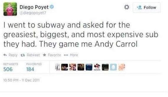 Diego Poyet's Anti-West Ham