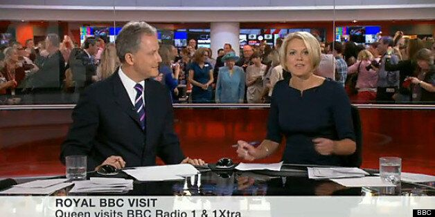 Newsreader Videobombs From The Queen, Lesbians And A Random Penis