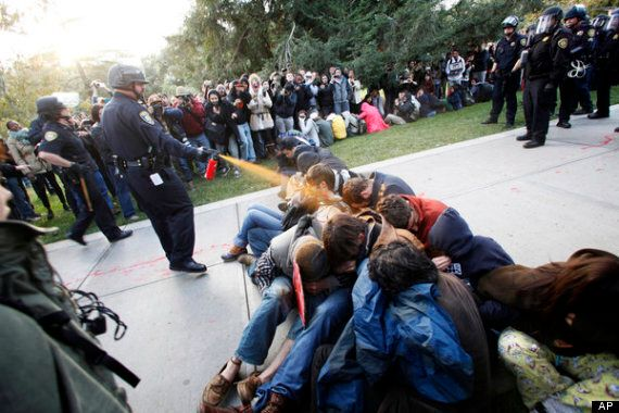 John Pike, Police Officer Caught Pepper-Spraying Peaceful Protesters, Given £25,000