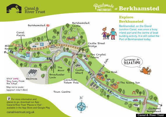 Berkhamsted Tourist Map Mocked On Social Media For Its Resemblance To A