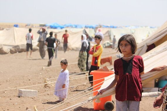 Yazidi Refugees in Syria: Lifesaving UNICEF Supplies