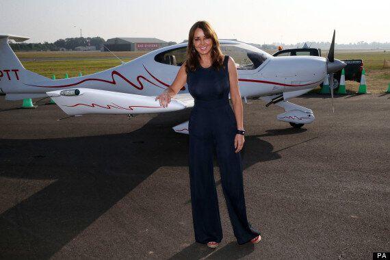 Carol Vorderman Makes Emergency Landing While Flying Plane Solo After Smelling